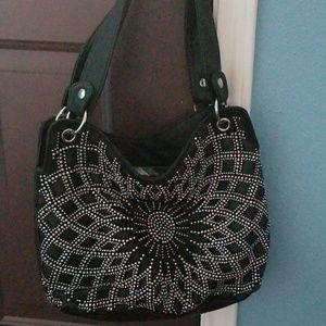 Bling Handbag with matching wallet